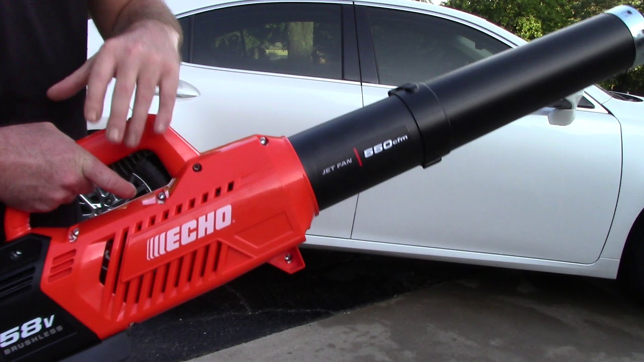 Why A Leaf Blower Is Safer Than A Metro Vac Echo 58v Cordless