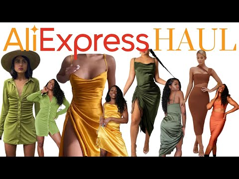ALIEXPRESS SPRING/ SUMMER DRESS HAUL | BADDIE ON A BUDGET | ZARA, HOUSE OF CB DUPES | PART ONE  🔥🔥