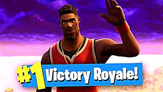 Jeu gagnant Jumpshot peau! (Fortnite Gameplay) -Solo