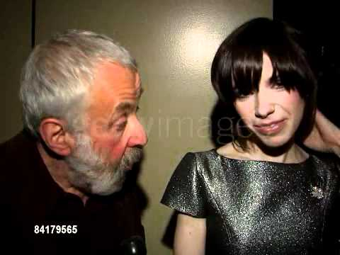 Sally Hawkins and Mike Leigh - New York Film Critic