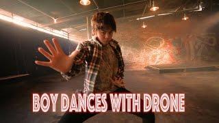 Boy Dances With Drone - Bloodstream @edsheeran