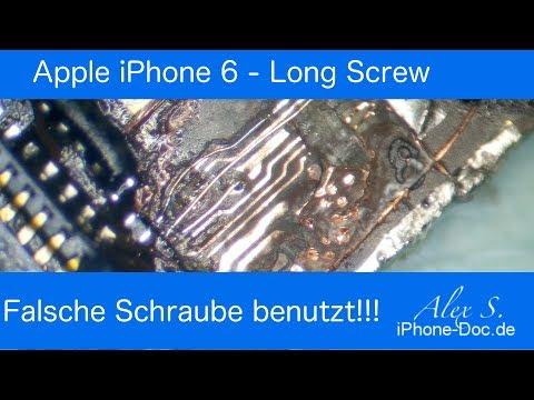 iPhone 6 kein Bild - LSD - Long Screw Damage - Deutsch