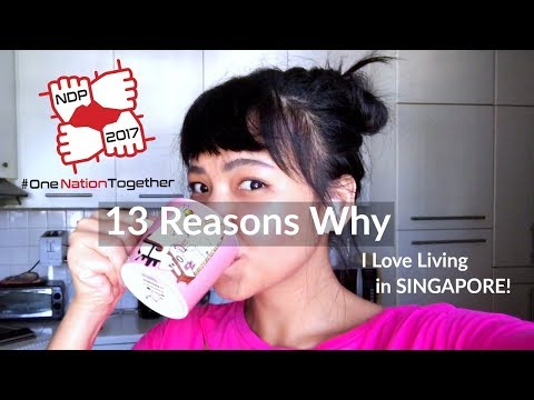 13 Reasons Why I Love Living in SINGAPORE |NDP 2017|