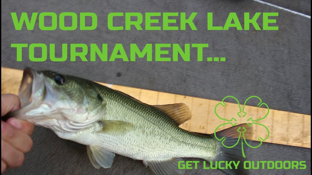 Wood Creek Lake Fishing tournament 2019