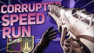 The Corrupted Nightfall Speedrun Guide! - Farm for Horror's Least (Destiny 2 Forsaken)