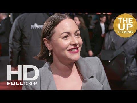 Jaime Winstone  Tomb Raider premiere in London