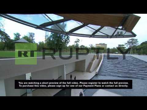 France: 100 million Euro 'Louis Vuitton Fondation' art museum opens in Paris