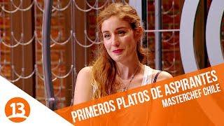 Primeros platos de aspirantes   MasterChef Chile   Capítulo 1