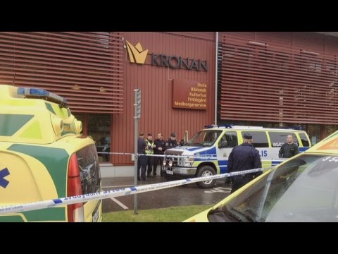 Sword attack at Swedish school leaves one person dead