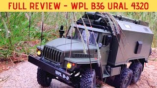 FULL REVIEW - WPL B36 URAL 4320 | BEST WPL RC MODEL | RC WITH POPEYE