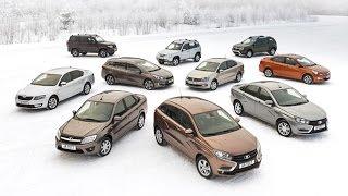 «Холодный супертест» десяти популярных автомобилей(, 2016-02-26T15:44:43.000Z)