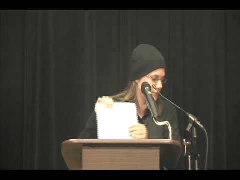 Visiting Writers Series- November 19, 2011