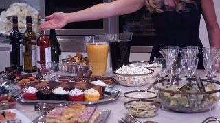 Party Ideas with Disposable Plastic Tableware - Dinner Parties, Christmas, Celebrations and more