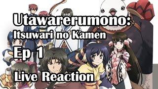 Utawarerumono - Itsuwari no Kamen Ep1 Live Reaction Part1