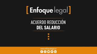 Reducción salarial