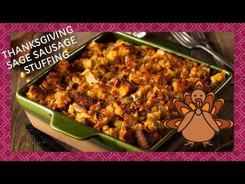 Thanksgiving Sage Sausage Stuffing