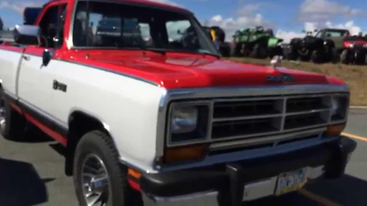1989 Dodge Ram Walkaround - YouTube