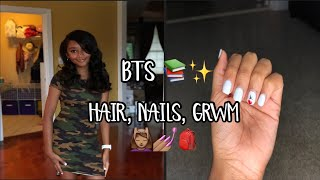 Getting Slayed For BTS | GRWM First Day of 7th Grade