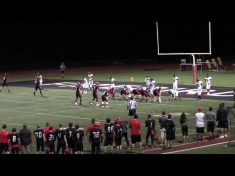 TJ Elkinton QB rushing highlights Jr  Yr 2016
