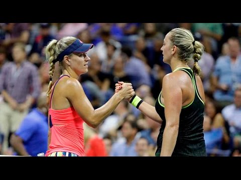 Kerber VS Kvitova Highlight