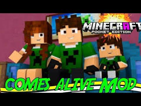 """Comes Alive PE Mod""""Mods Para Minecraft PE 1.0.0"""