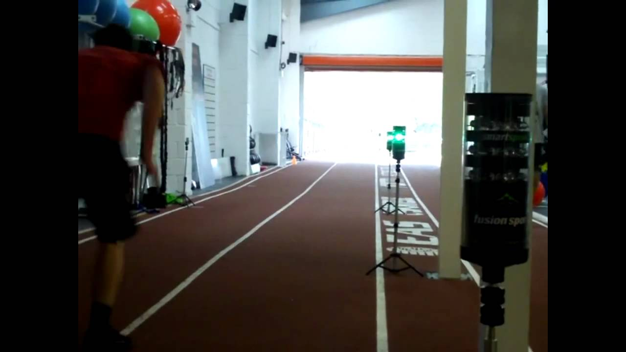 30m Sprint Timing At Perform With Smart Speed Timing