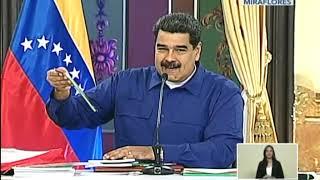 Presidente Nicolás Maduro, cadena completa el 17 septiembre 2018 por retorno a clases