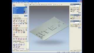 ArtCAM - уроки по работе с программой, урок - fluted foil die