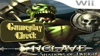 Enclave: Shadows of Twilight (Nintendo Wii) Gameplay-Check