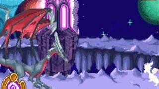 The Legend Of Spyro: A New Beginning - Cynder vs. Spyro GBA version