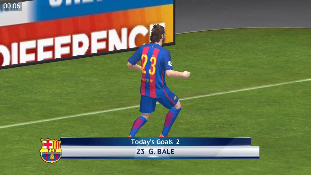 Pes 17 Mobil - Muhtesem Goller - Bölüm 1- Gareth Bale Rövaşeta