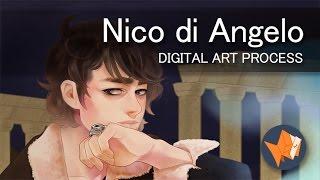 Nico di Angelo | Digital Art Process