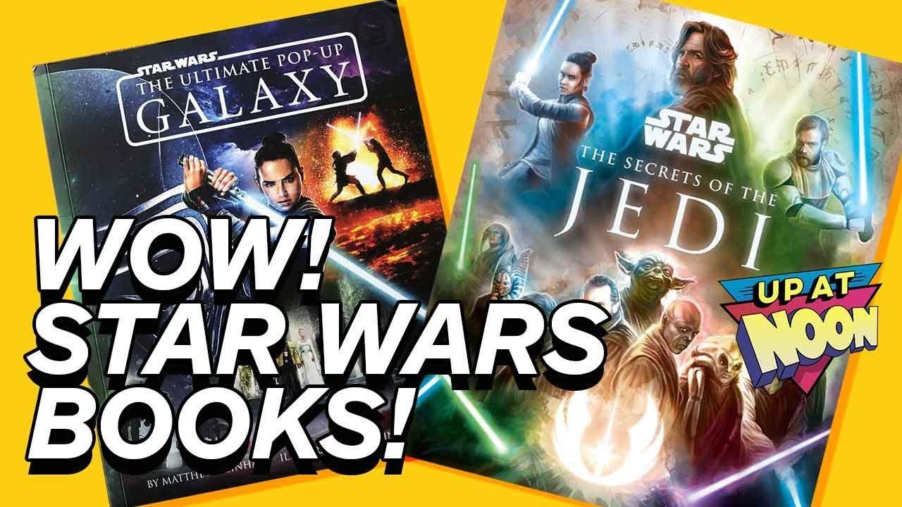 Estes novos livros de Star Wars são tão mágicos! - Ao meio-dia! + vídeo