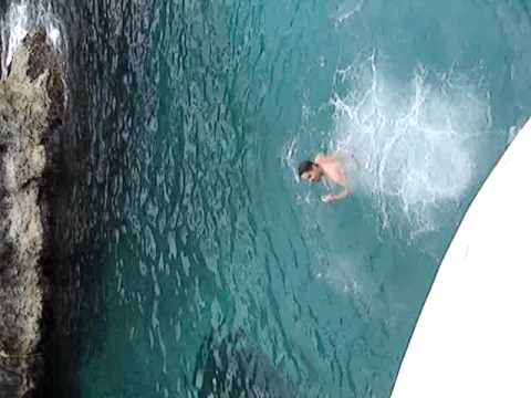 Andrea Cliff Jumping