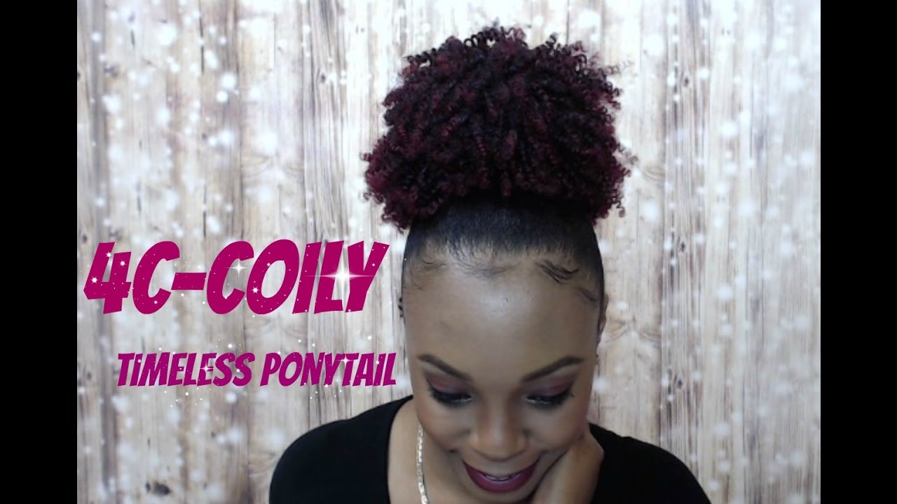 Outre Synthetic Timeless Ponytail Beautiful Hair 4c Coily Wigtypes Com Review