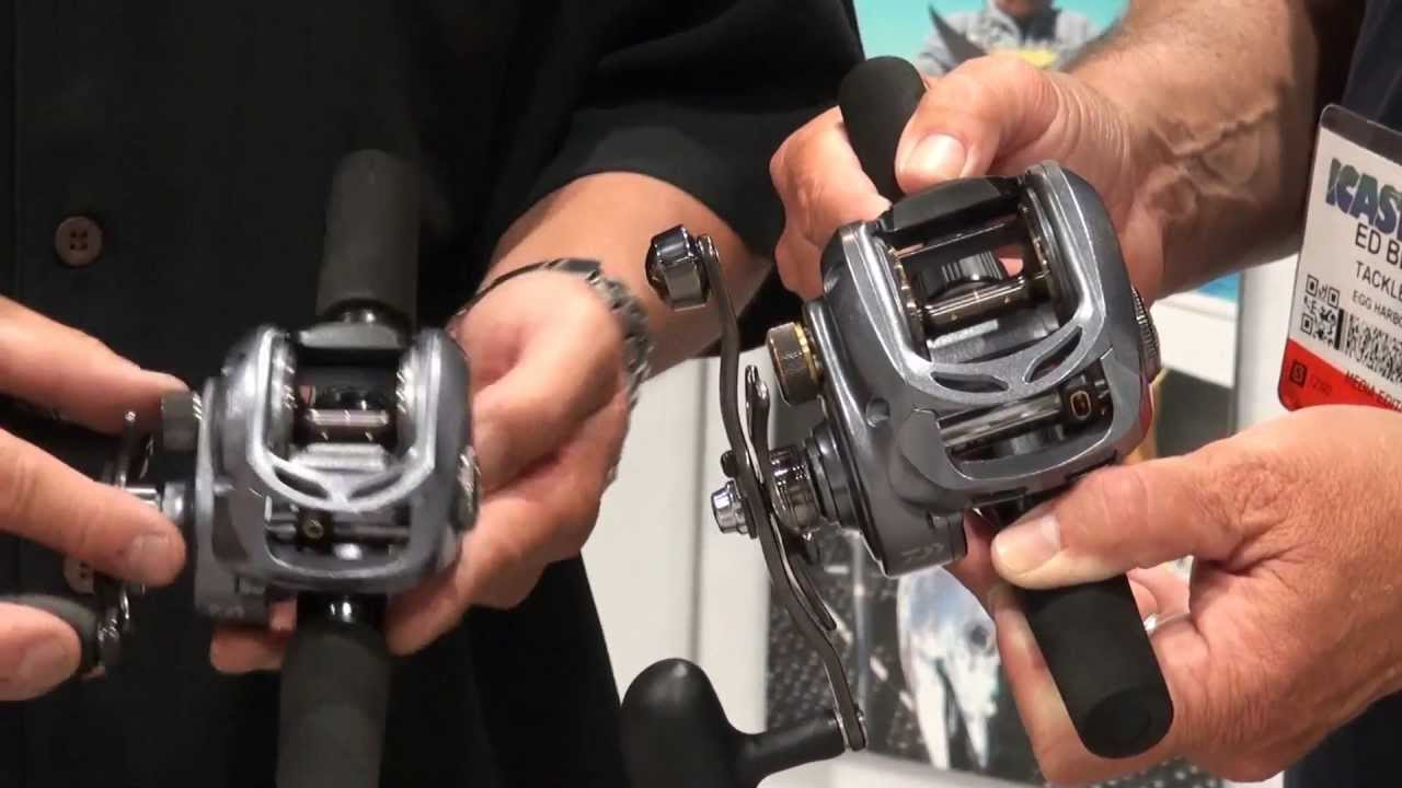 7c9a17d054d Daiwa Lexa 300 and 400 Reels at ICAST 2013 - YouTube