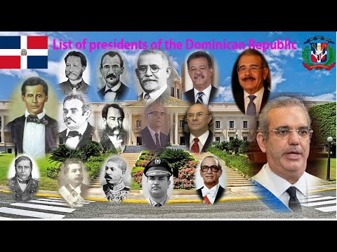 List of presidents of the Dominican Republic
