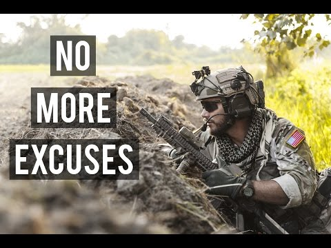 No More Excuses | Military Motivation