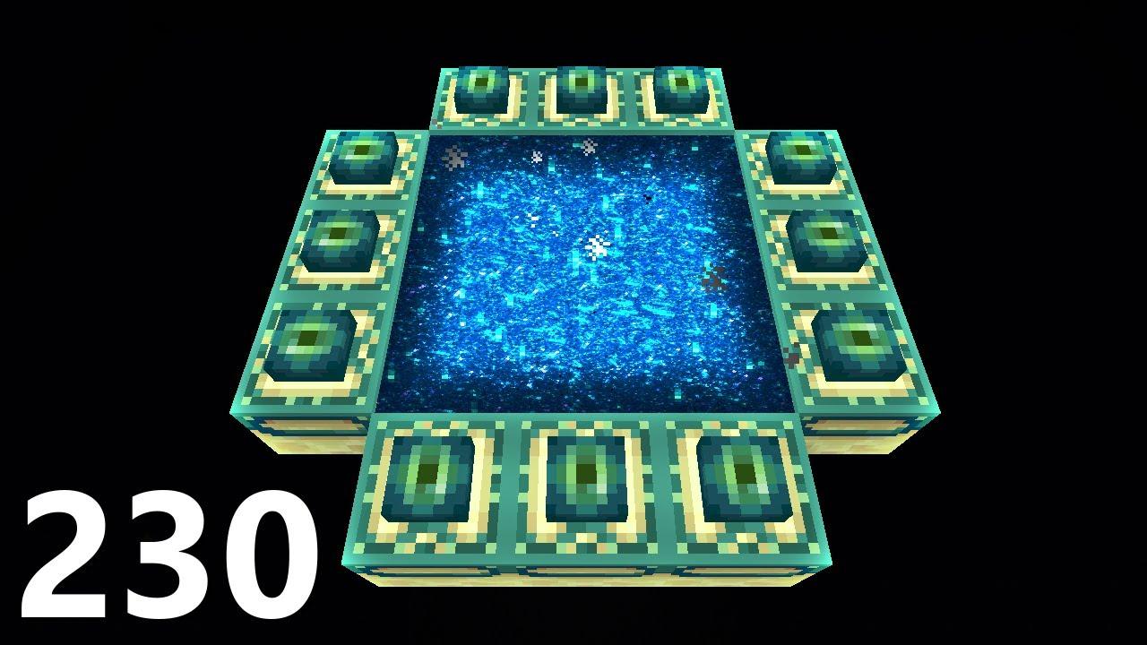 NIESAMOWITY PROJEKT! SZTUCZNY END! - SnapCraft IV - [230] (Minecraft 1.16)