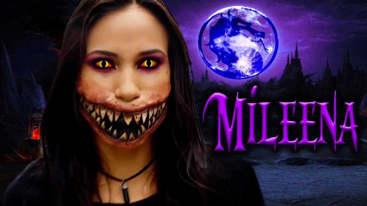 Mileena mortal kombat x okkido mileena cosplay photo cure.