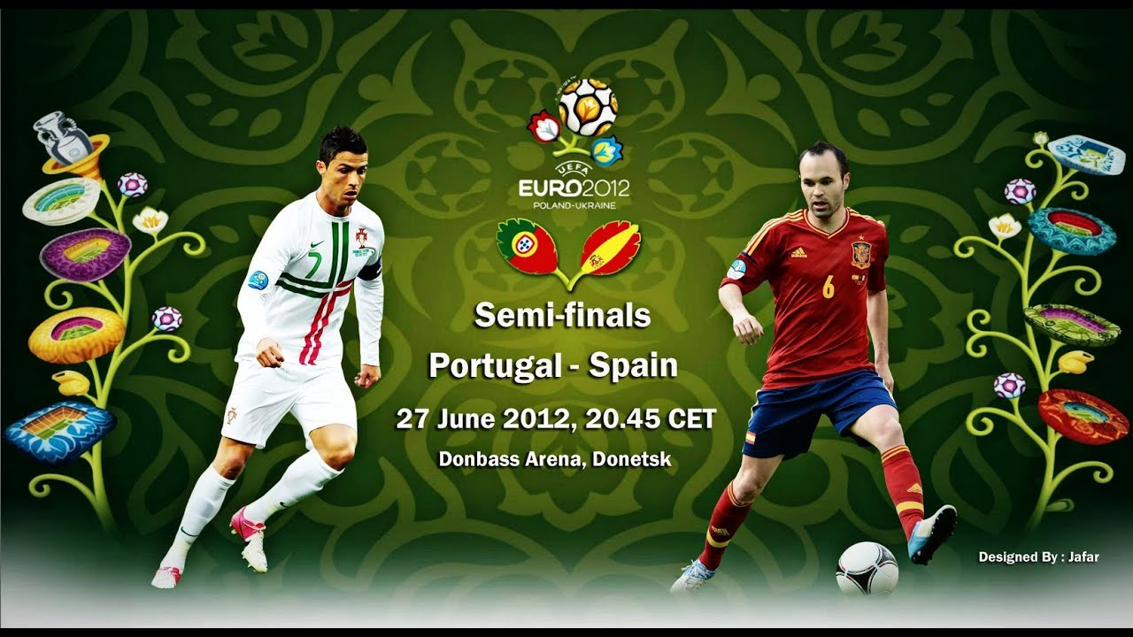 Portugal Vs Spain   Eurocopa Semifinal Highlights Penalty Shootout Youtube