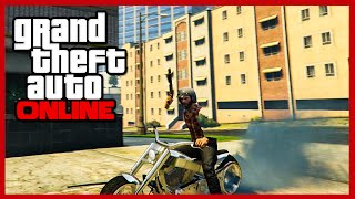 "GTA Online: Invisible Torso and Arms Trick! ""Invisible Body Trick"" (GTA 5 No Arms/Torso)"