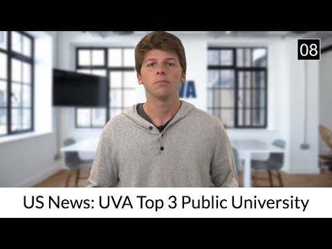 NOW: UVA Continues To Top US News Rankings