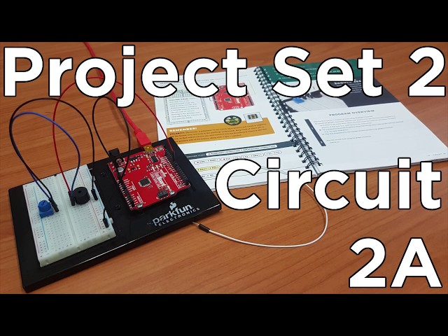 Arduino Projects with Sound (Using Sparkfun RedBoard