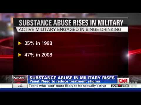Substance Abuse In The Military On The Rise