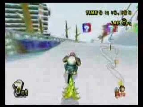 mario kart wii funky kong youtube. Black Bedroom Furniture Sets. Home Design Ideas