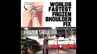 Ultra Frozen Shoulder Fix | SmashweRx | Trevor Bachmeyer