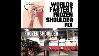 Ultra Frozen Shoulder Fix | SmashweRx | Trevor Bachmeyer