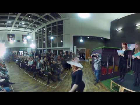 Hatwalk Show with BA (Hons) Costume Interpretation with Design - 360 Degree 4k