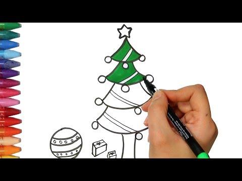 Wie Zeichne Ich Einen Tannenbaum.Wie Zeichnet Man Einen Weihnachtsbaum Zeichnen Und Ausmalen Für